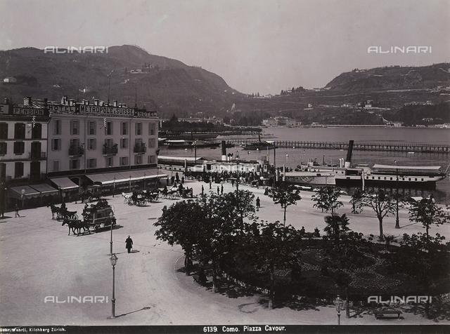 Piazza Cavour in Como
