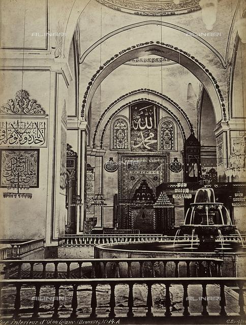Interior of the Ulu Cami Mosque, Bursa, Turkey