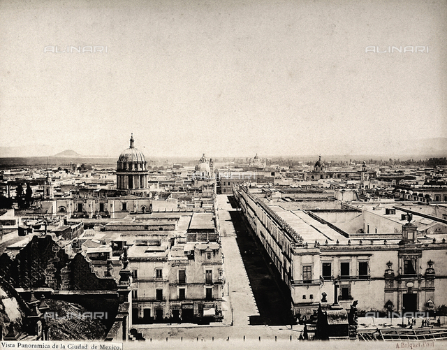 View of Mexico City