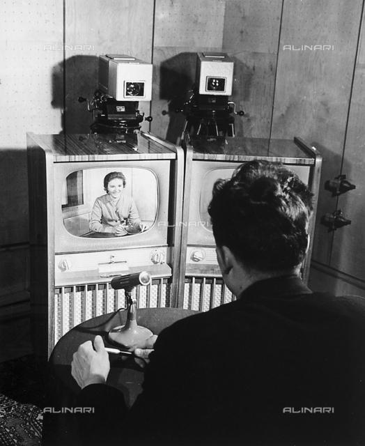 A live TV broadcast in Russia