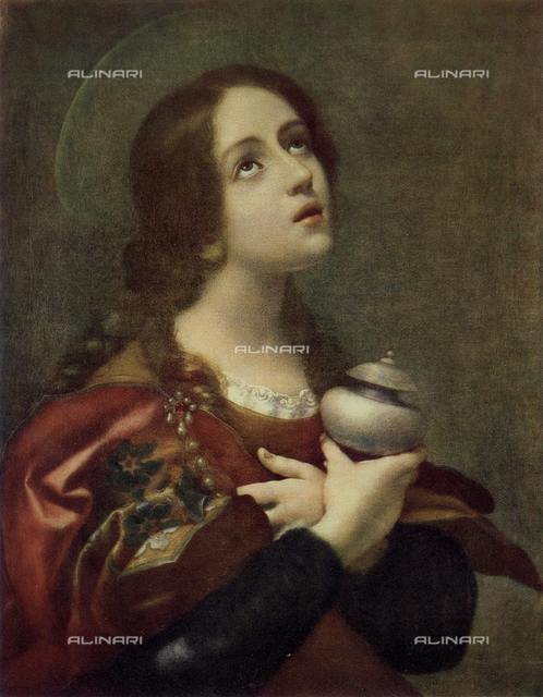 The Magdalene; painting by Carlo Dolci, in the Uffizi Gallery in Florence