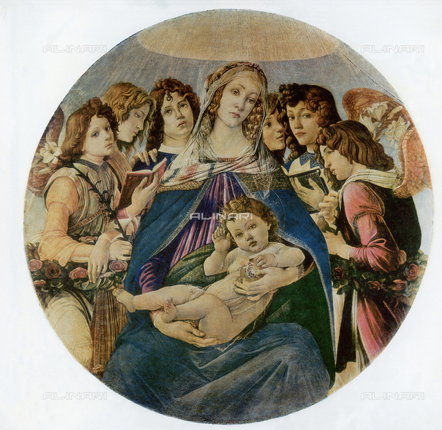 Madonna of the Pomegranate, Uffizi Gallery, Florence