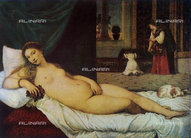 Venus of Urbino; Tiziano. Uffizi Gallery, Florence