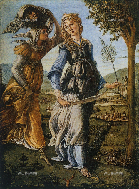 The return of Judith, Uffizi Gallery, Florence