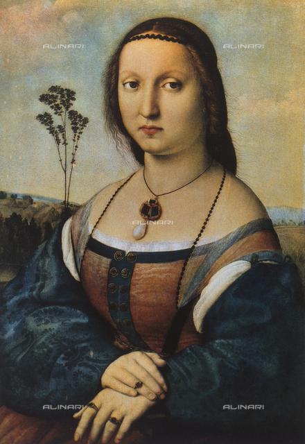 Portrait of Maddalena Doni, Palatine Gallery, Palazzo Pitti, Florence