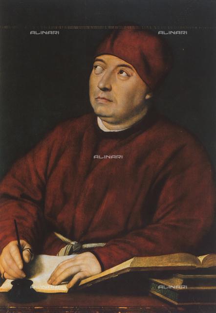 Portrait of Tommaso Fedra Inghirami, Palatine Gallery, Palazzo Pitti, Florence