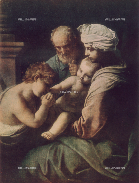 Holy Family with Young St. John, Galleria Borghese, Rome.