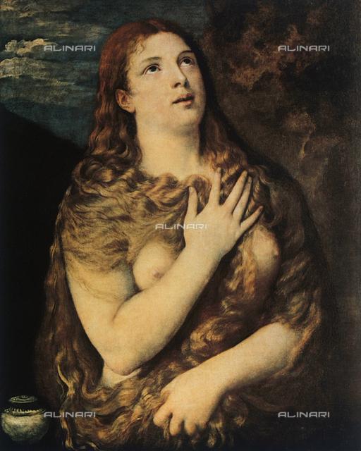 Penitent Magdalen; Galleria Palatina, Palazzo Pitti, Florence