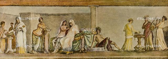 """The """"Aldobrandine Nuptial"""", Vatican Museum, Vatican City"""