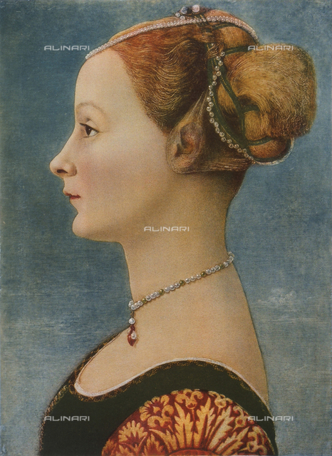 Portrait of a woman, Poldi Pezzoli Museum, Milan