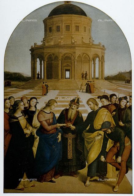 Marriage of the Virgin, Brera Gallery, Milan