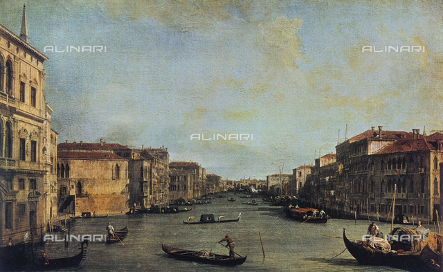 View of the Grand Canal of Venice, Galleria degli Uffizi, Florence