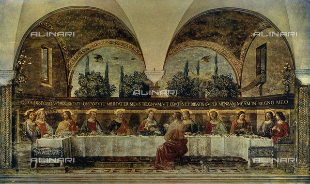 The Last Supper, Museum of San Marco, Florence