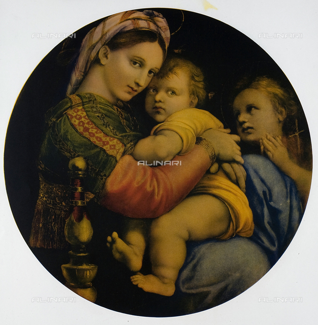 The Madonna of the Chair, Galleria Pitti, Florence