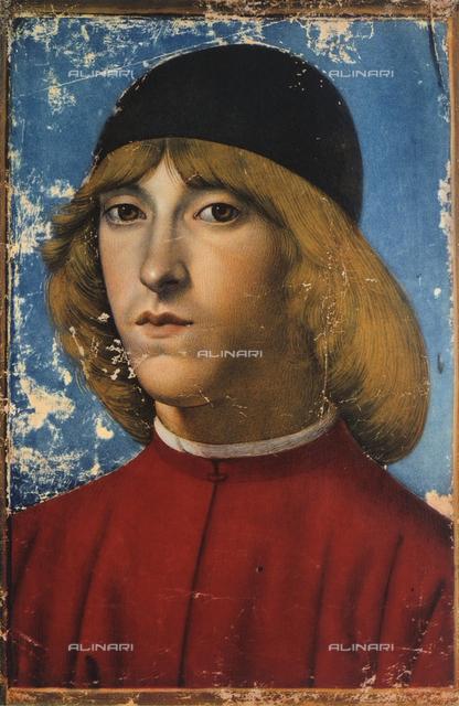 Portrait of Piero di Lorenzo de' Medici; miniature, Biblioteca Nazionale, Naples