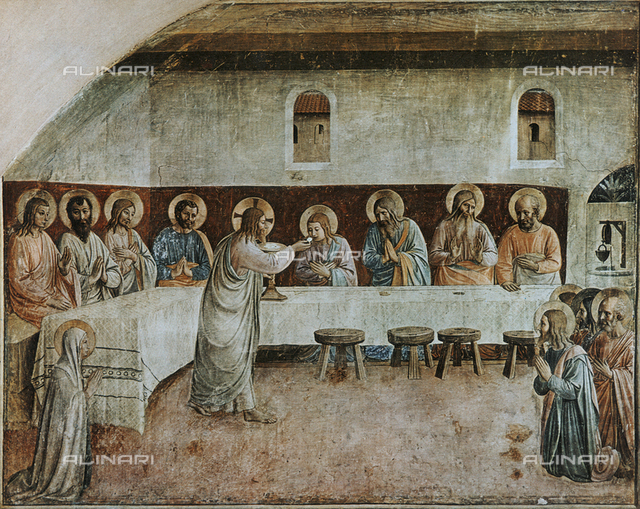 Institution of the Eucharist, Monastery of San Marco, Florence
