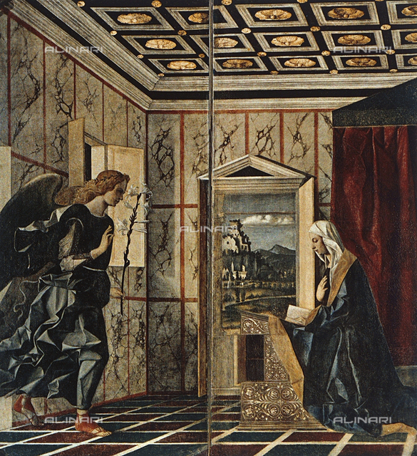 Annunciation, Accademia Galleries, Venice