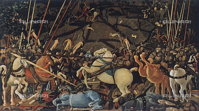 The Battle of San Romano, Galleria degli Uffizi, Florence