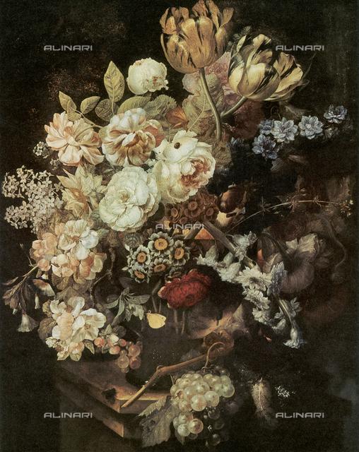 Flowers, Huysum, Uffizi Gallery, Florence