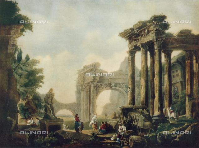 Roman ruins; Pinacoteca, Parma