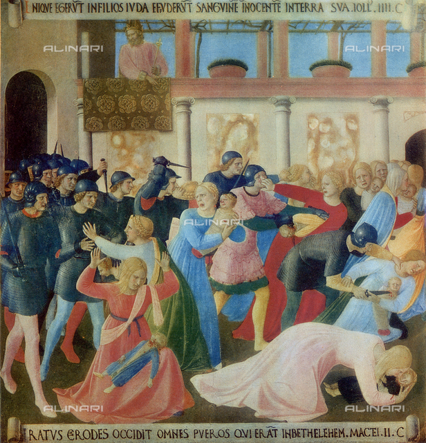 Armadio degli Argenti: the Massacre of the Innocents, Museo di San Marco, Florence