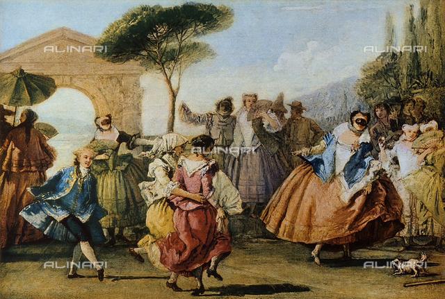 The Minuet; Ca' Rezzonico, Venice