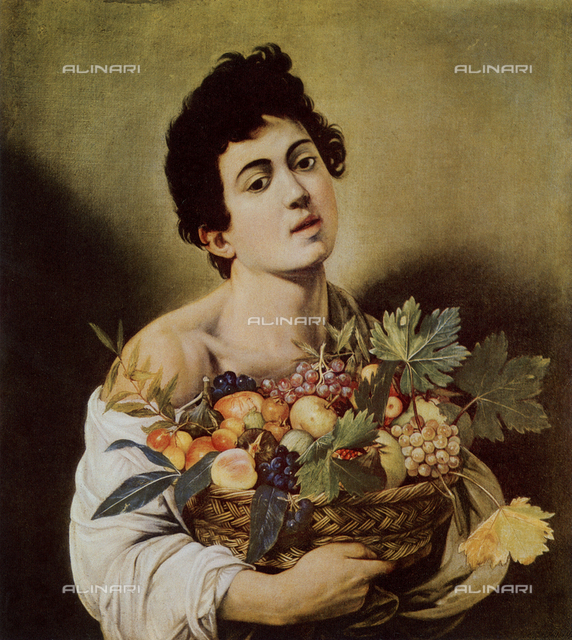 Youth with a Basket of Fruit, The Borghese Gallery, Rome