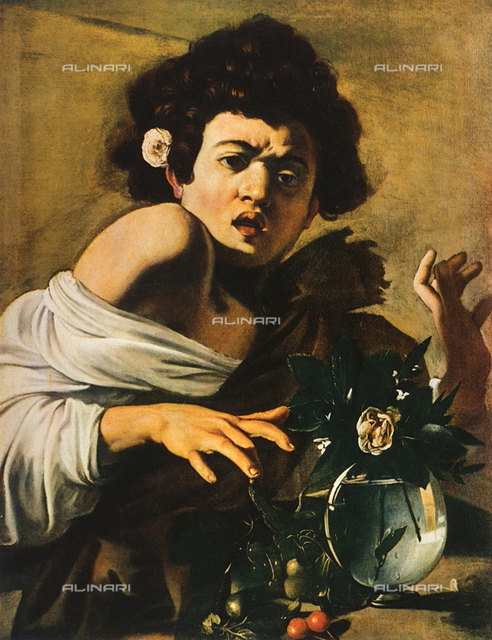 Boy Bitten by a Lizard, Longhi Foundation, Florence