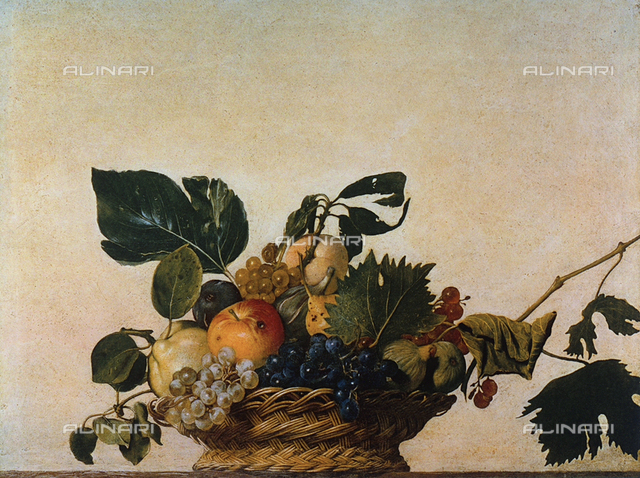 Basket of fruit, Pinacoteca Ambrosiana, Milan