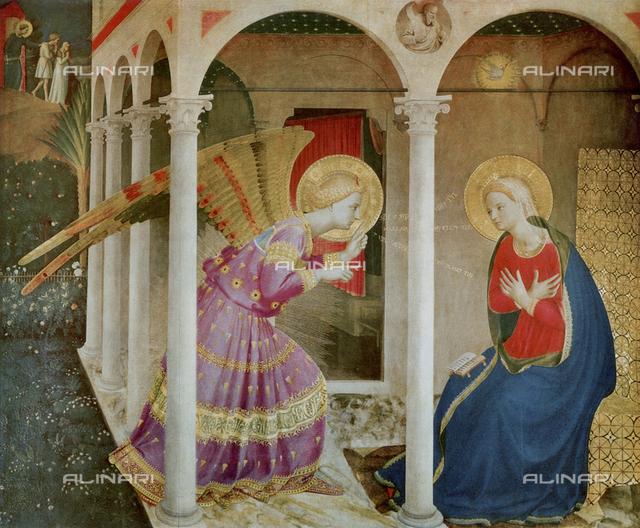 Altar piece of Cortona, Beato Angelico, Diocesan Museum, Cortona.