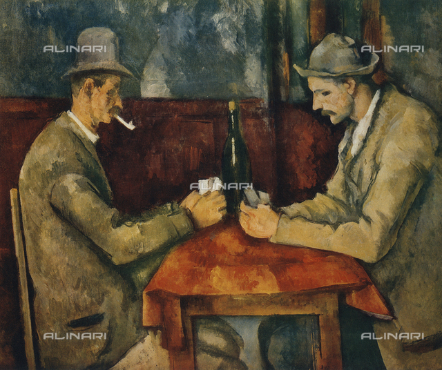 Card Players, Musée d'Orsay, Paris