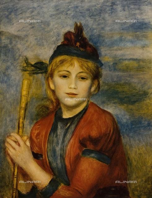 The excursionist, Musée des Beaux-Arts, Le Havre