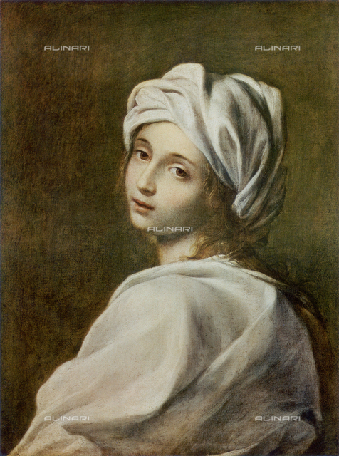 Portrait of Beatrice Cenci; work of Guido Reni. National Gallery of Ancient Art, Rome