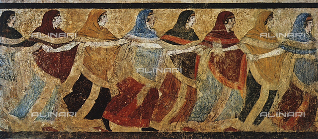 Funeral chorus of women, from Ruvo, National Archaeological Museum, Naples