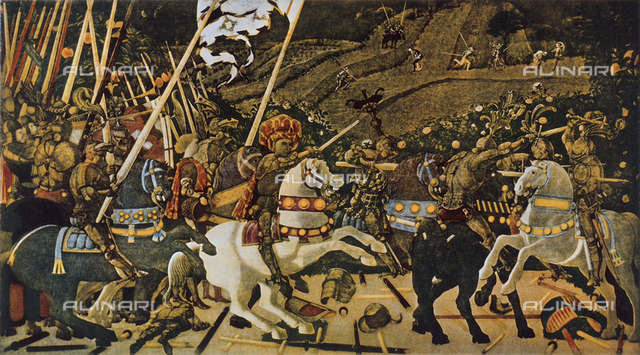 The Battle of San Romano, National Gallery, London