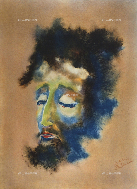 Head, Otto Schneid, Private Collection