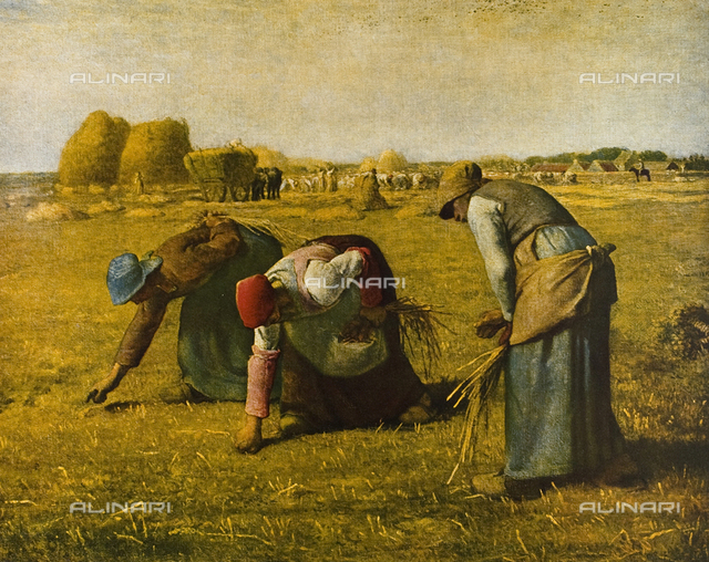 The wheat harvesters, Musée d'Orsay, Paris
