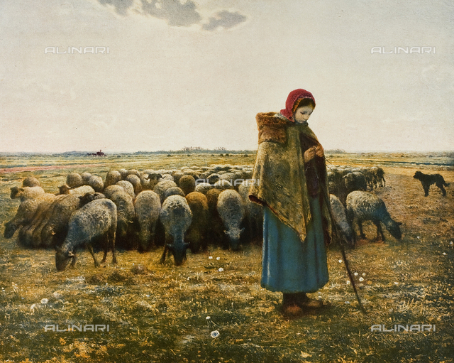 The Shepherdess, Musée d'Orsay, Paris
