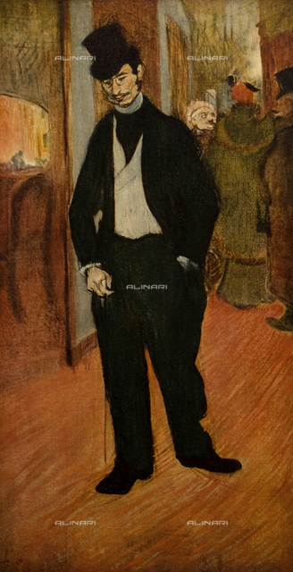 Dr. de Tapiè Celeyran, painting, Henri De Toulouse-Lautrec (1864-1901), Musee Toulouse-Lautrec, Albi