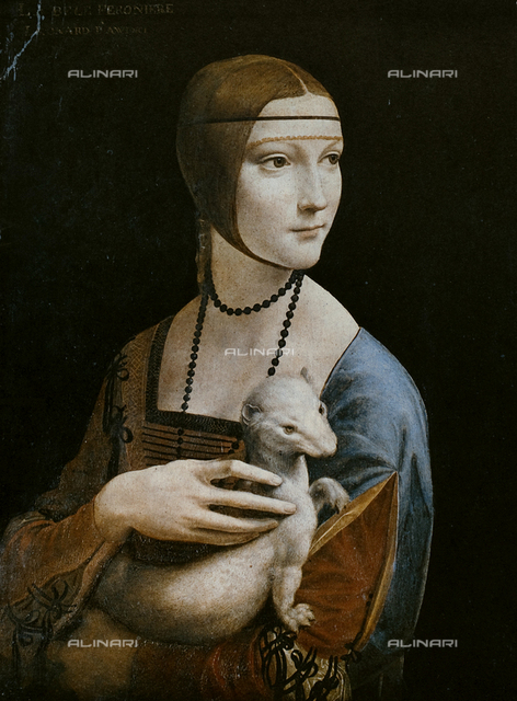 Lady with the ermine, Czartorisky Museum, Kracow.