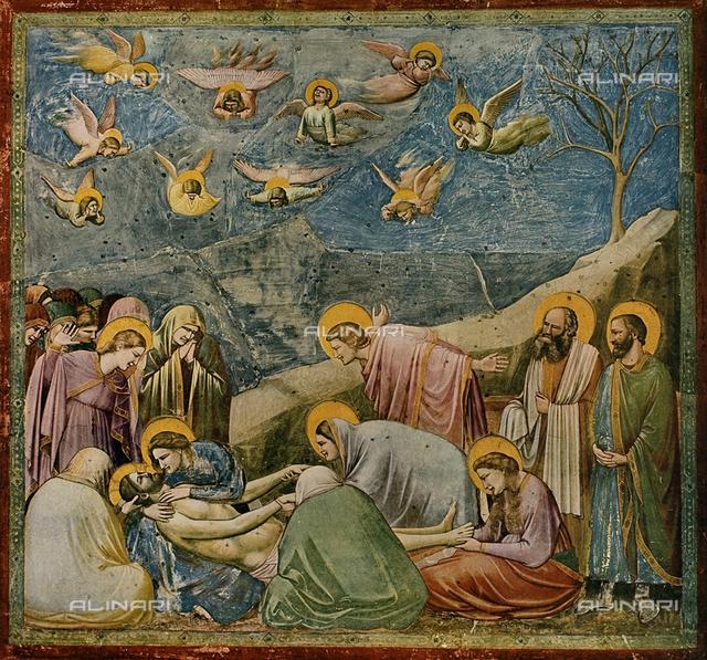 Compianto sul Cristo morto; Cappella degli Scrovegni, Padova