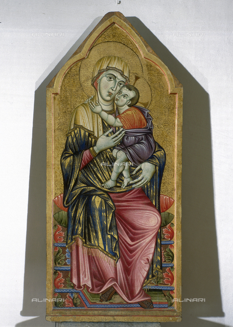 Madonna and Child, Master of the Triptych of Perugia, National Gallery of Umbria, Perugia