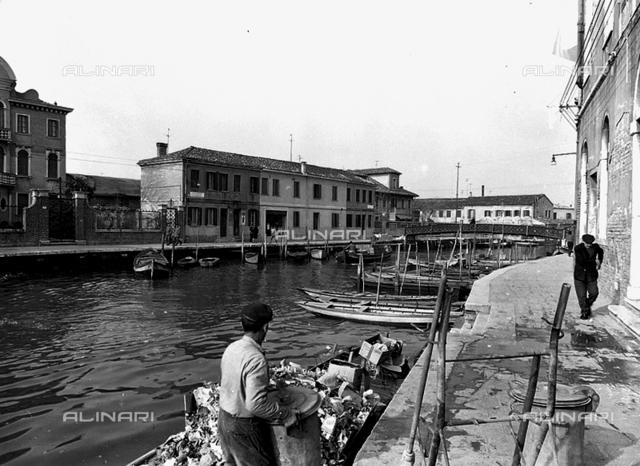 View of a rio in Murano
