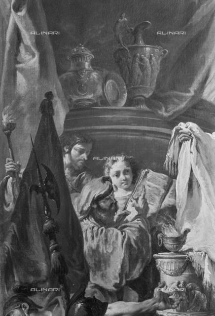 Scene of sacrifice, detail, picture