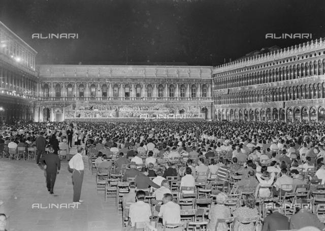 Concert in Piazza San Marco in Venice