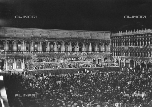 Concert in Piazza San Marco in Venice