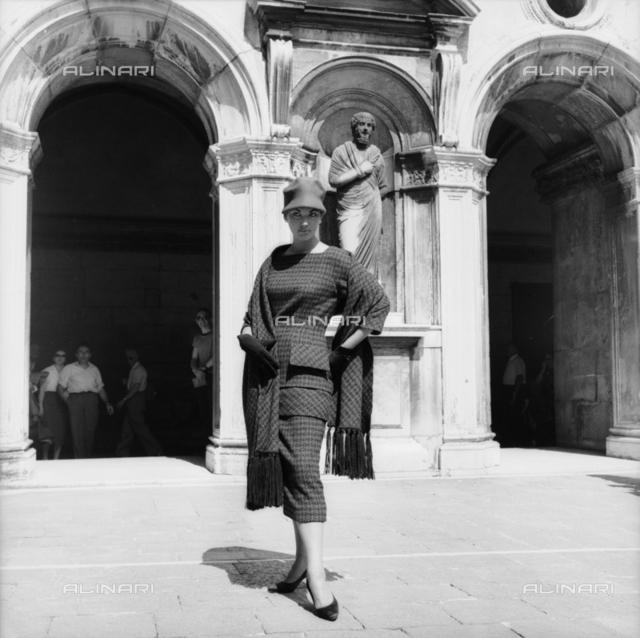 Fashion model, Venice