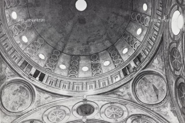 Dome, Donato di Angelo di Pascuccio detto il Bramante (1444-1514), Church of St Maria of the Graces, Milan
