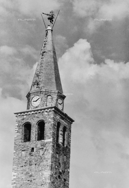 Bell tower of the Duomo of Gorizia