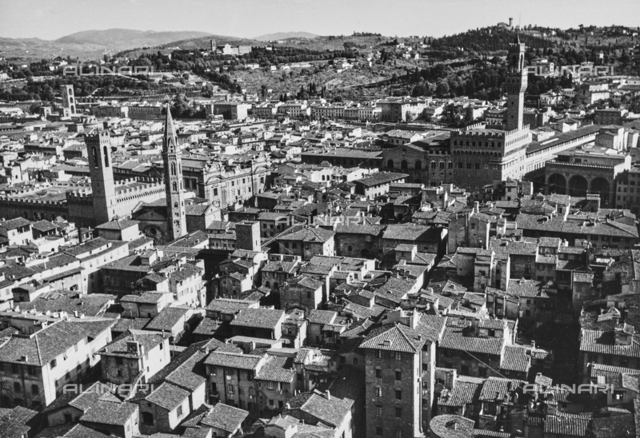 View of Florence from bell tower of Santa Maria del Fiore Cathedral